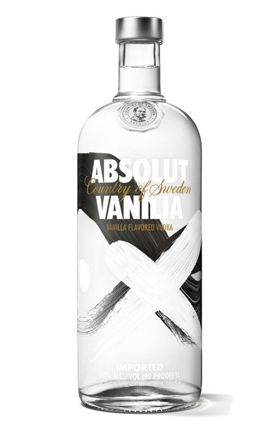 Absolut Vanilla (vanília) vodka 40%  1L