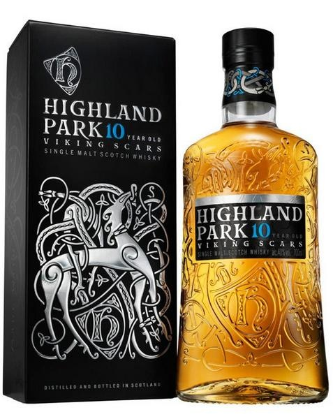 Highland Park 10 years (éves) Viking Scars 40% 0.7L