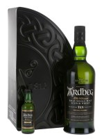 Ardbeg 10 years (éves) pack (+Uigeadail mini) fdd. 0.7L+0.05L