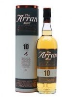 Arran 10 years (éves) Non chillfiltered 46% 0.7L