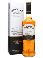 Bowmore 12 years (éves)  whisky 40% 0,7L