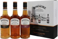 Bowmore Collection Triple pack 42% pdd. 3*0.2L
