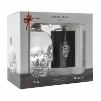 Crystal Head vodka + flaska pdd 40% 0.7L